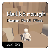All Level Walktrough Human Fall : Flat Updated ícone