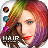 Easy Hair Color Changer ícone