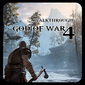 The Walkthrough for God of War 4 PS Kratos ícone