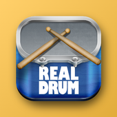 Real Drum ícone