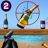Ultimate Bottle Shooting Game : New Free 2020 ícone