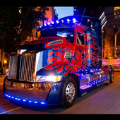 Optimus Truck Led ícone