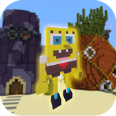 Mod Bikini Bottom for MCPE ícone