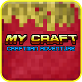 My Craft: CraftsMan Build Building Games ícone
