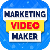 Marketing Video, Promo Video & Slideshow Maker ícone