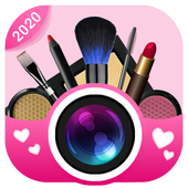 Face Makeup Camera - Beauty Makeover Photo Editor ícone