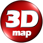 3DMap. 3D Modeling textures 4 game and home design ícone
