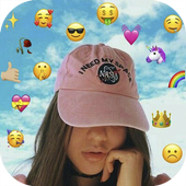 Face Emoji Photo Editor ícone